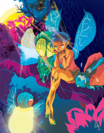 Summer Glow - Ray the Fairae by Kita  Parnell
