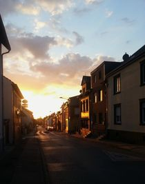 Sonnenuntergang (Sunset) in Bardenberg von Philipp Tillmann