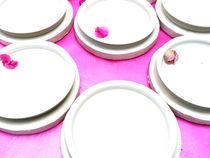 Blüten auf Keramik von leoncanarias