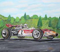 Jochen Rindt Lotus von Erich Handlos