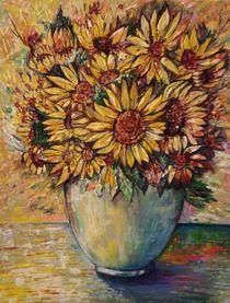 Die Sonnenblumen (Sunflower) by Myungja Anna Koh