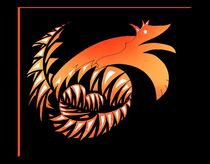 red dragon Wolf von foryou