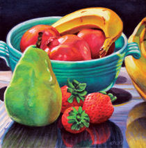 Still Life with Fruit by Kenneth Cobb