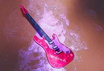E-gitarre-rosa