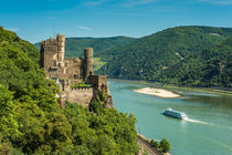 Burg Rheinstein 83 von Erhard Hess