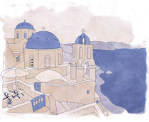 Santorini, the Greek jewel of Aegean Sea von Mihalis Athanasopoulos