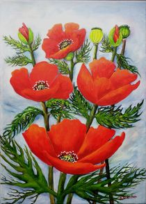 Mohnblumen by G.Elisabeth Willner