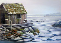 Old Fishing Shack von wenslow