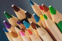 Farbstiftspitzen