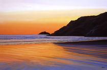 Earth Sunrise Sea von Paul Meijering