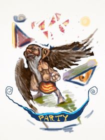 Die Party by berlin-edrawings