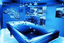 Billiard in blue by Sandra Haußer
