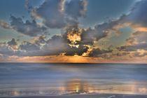 SYLT - Sonnenuntergang am Weststrand von Heidi Lindemann