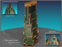 Skyscraper Model by David Voutsinas