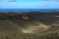 Timanfaya crater view