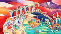 Il Battello dei Sogni - Rialto Brücke Venedig by nacasona