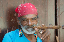 Cigar man  by Rob Hawkins