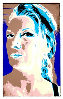 F. digital Art by AndreA Nr. 20 by Andrea Roling