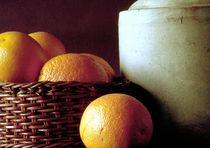 Stillleben mit Orangen von Rolf Hackemann