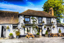 The Theydon Oak Pub Art by David Pyatt