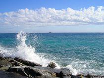 Meer und Gischt von Karin Nessika