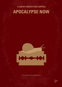 No006 My Apocalypse Now minimal movie poster von chungkong