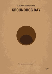 No031 My Groundhog minimal movie poster von chungkong