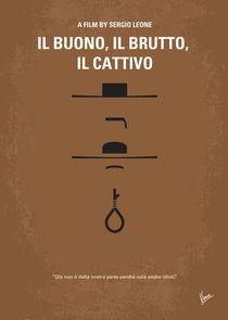 No042 My Il buono il brutto il cattivo minimal movie poster by chungkong