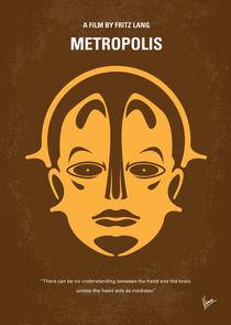No052 My Metropolis minimal movie poster by chungkong