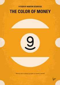 No089 My The color of money minimal movie poster von chungkong