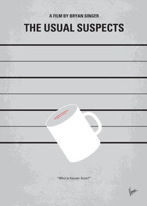 No095 My The usual suspects minimal movie poster by chungkong