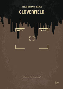 No203 My Cloverfield minimal movie poster by chungkong