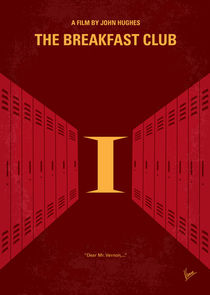 No309 My The Breakfast Club minimal movie poster von chungkong