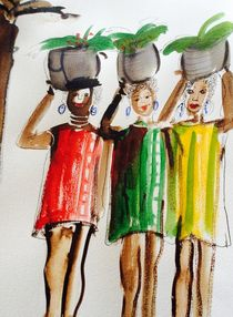 Marktfrauen von Annegret Hoffmann