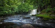 Sgwd Ddwli Uchaf waterfalls South Wales von Leighton Collins