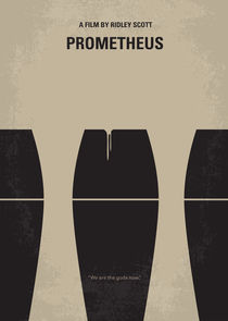No157 My Prometheus minimal movie poster von chungkong