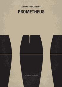 No157 My Prometheus minimal movie poster von chungkong