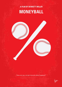 No191 My Moneyball minimal movie poster von chungkong