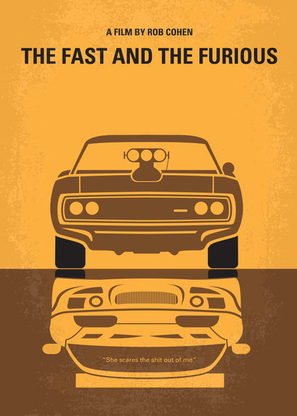 No207-my-the-fast-and-the-furious-minimal-movie-poster