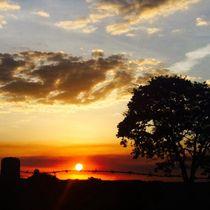 Espetacular Pôr-do-sol na histórica cidade de São Simão von Antonia Nascimento