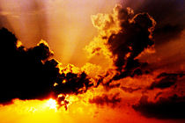 Sonne und Wolken by Sandra Kaltofen