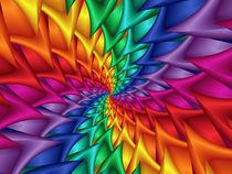 Rainbow Spiral Thorns  von Kitty Bitty