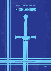 No034 My Highlander minimal movie poster by chungkong