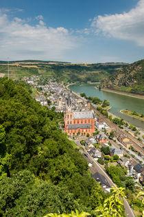 Oberwesel am Mittelrhein 34 von Erhard Hess