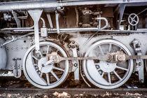 historischer Zug in Sepia by flylens