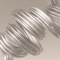 Metallspaghetti beige von dresdner