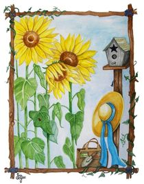 Sunflower Garden von Sandra Gale