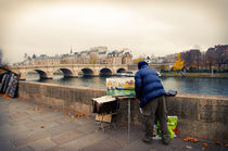 Paris Autumn Landscape by cinema4design
