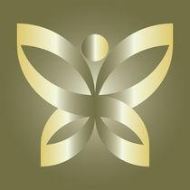Golden butterfly von feiermar