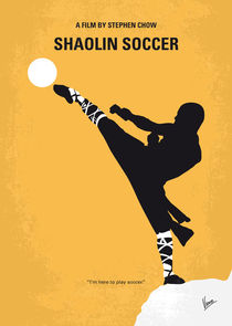 No480 My Shaolin Soccer minimal movie poster by chungkong